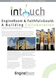 EngineRoom InTouch eNewsletter 130315