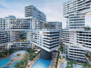 world architecture awards vertical village