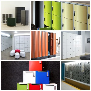 Designer lockers for the office